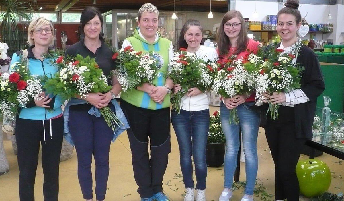 Marketenderinnen des Bezirkes Brixen