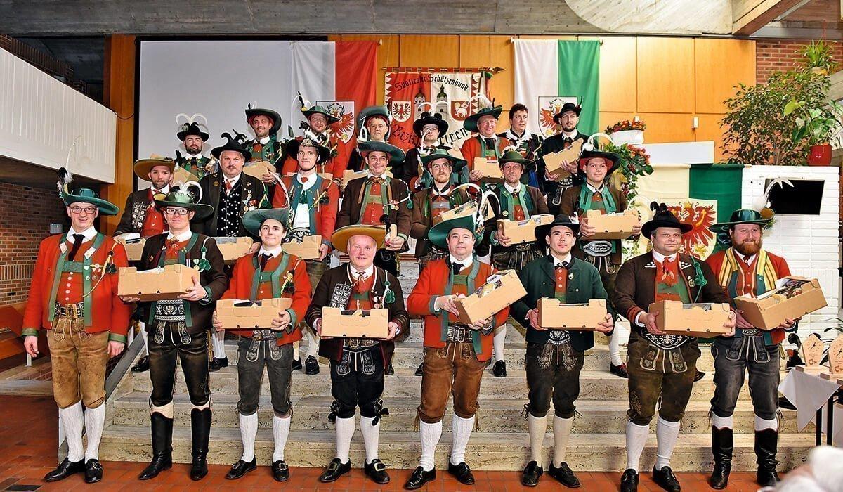 Schießleitung des Schützenbezirks Brixen